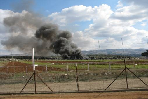 שריפת פסולת בשטחים פתוחים - ישראל
