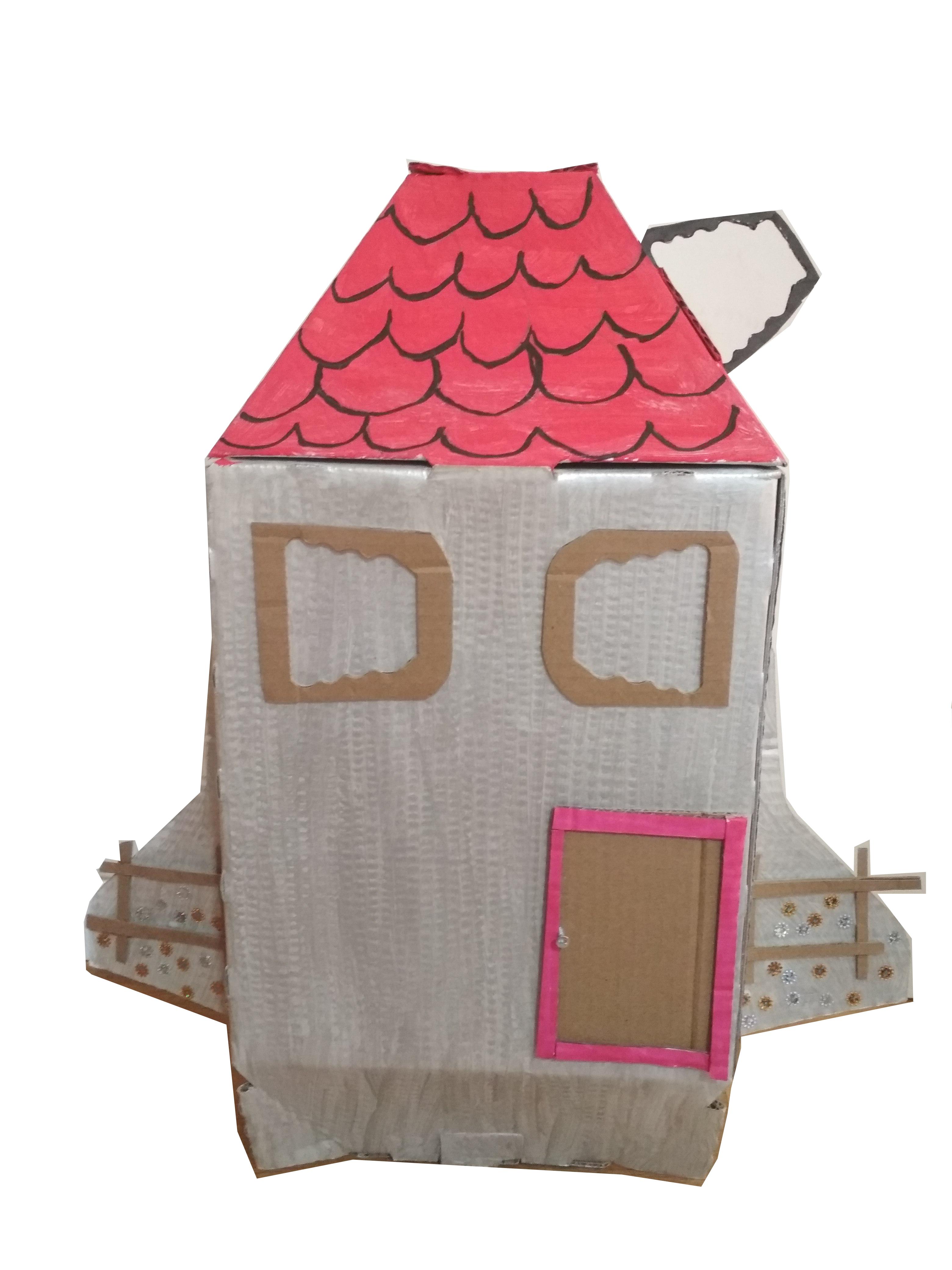 חללית בעיצוב בית