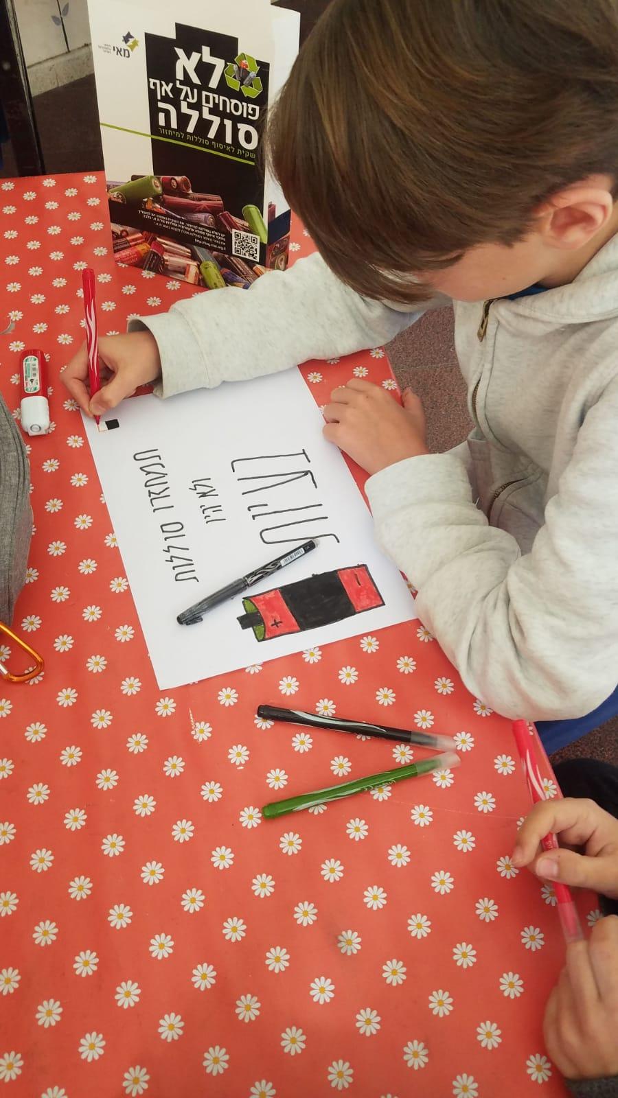 פרויקט הסברה בהובלת ילדי בית הספר